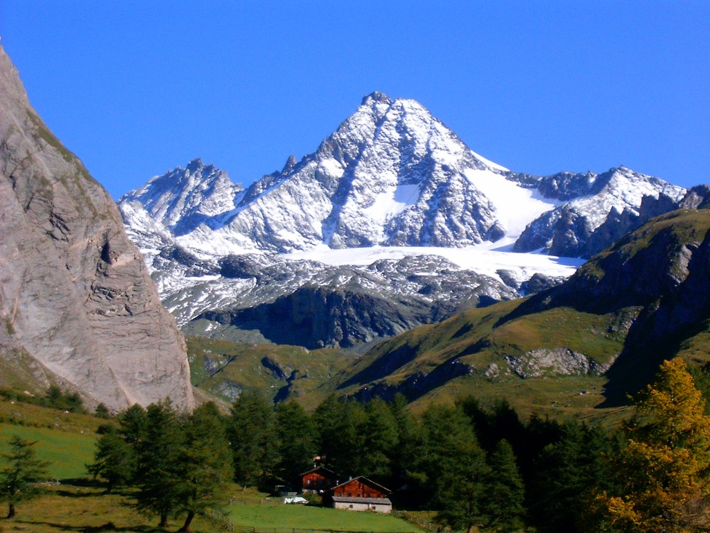 Großglockner from the Luckner-Haus