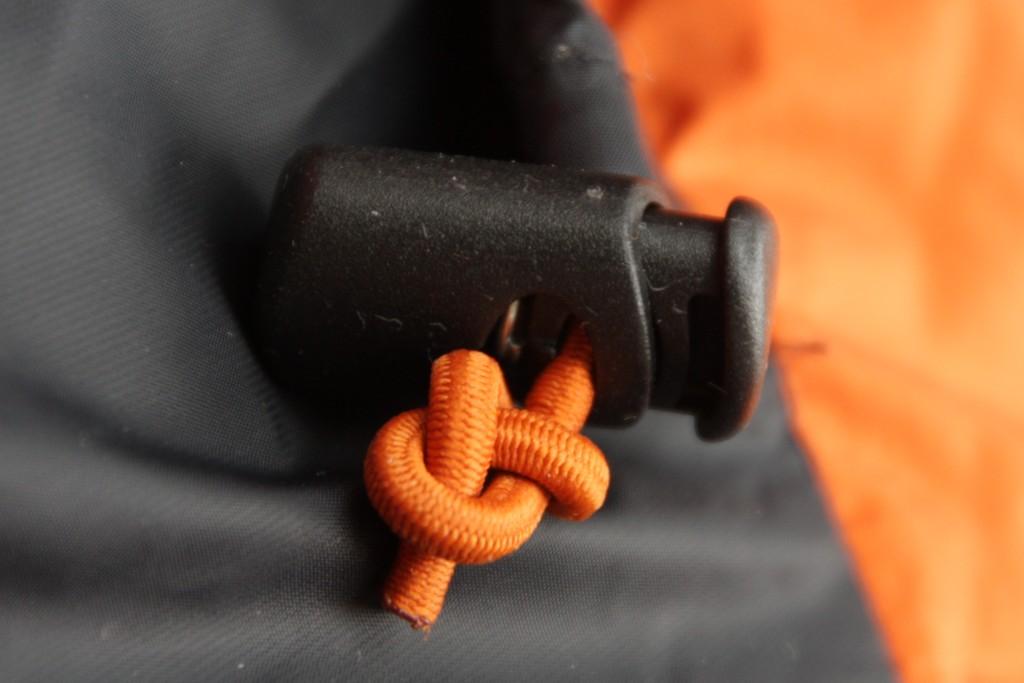 Marmot Parka hood cord puller