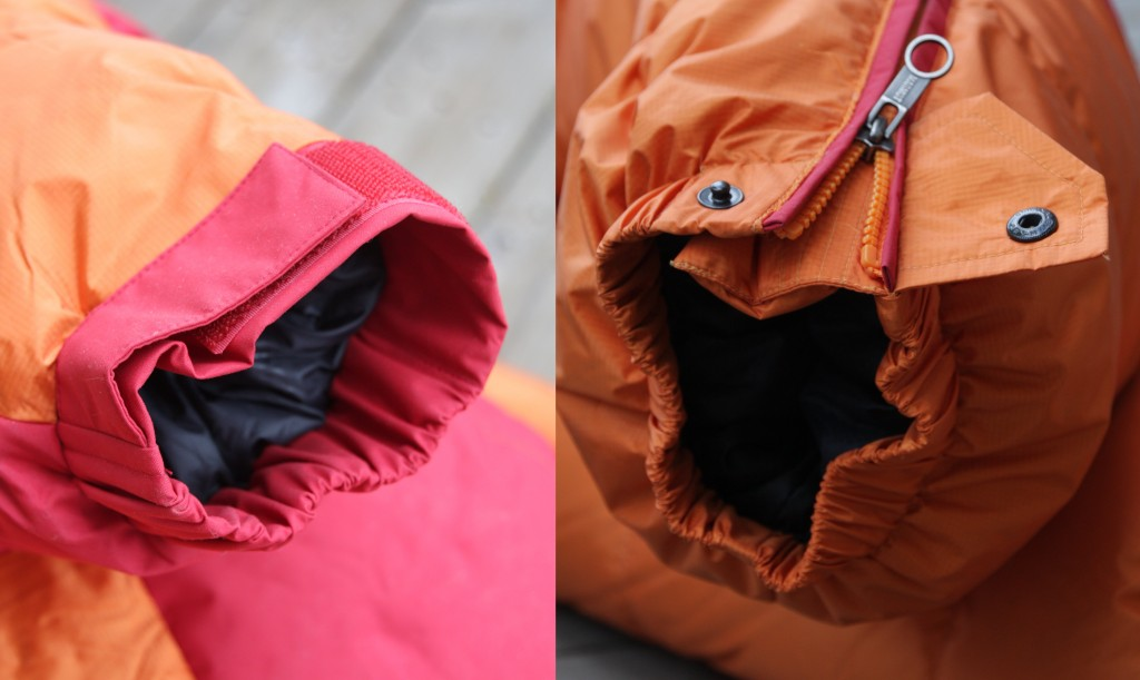 Marmot Parka and Pants cuffs