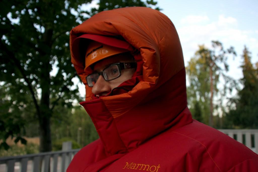 Marmot hood fit