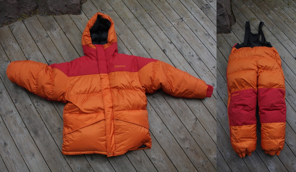 Marmot 8000m Parka and Pants