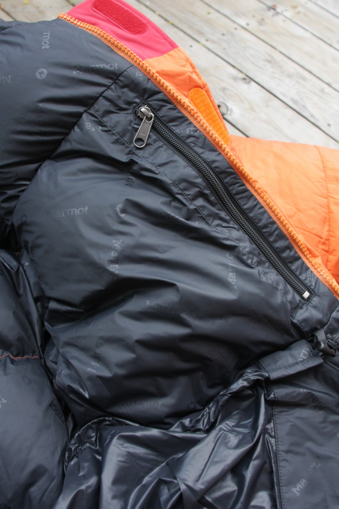 Marmot Parka inside pocket