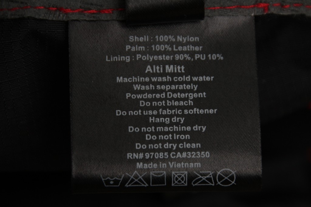 Oudoor Research Alti wash tag