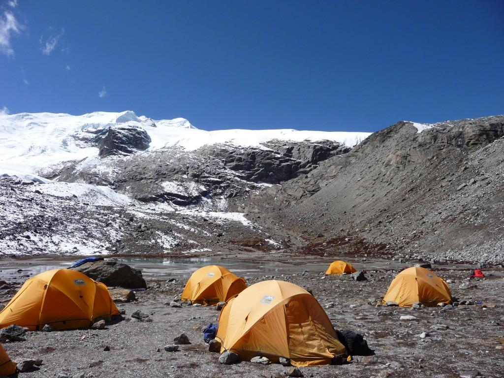 Mera Peak basecamp