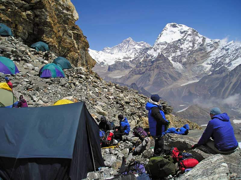 Mera Peak rocky high camp