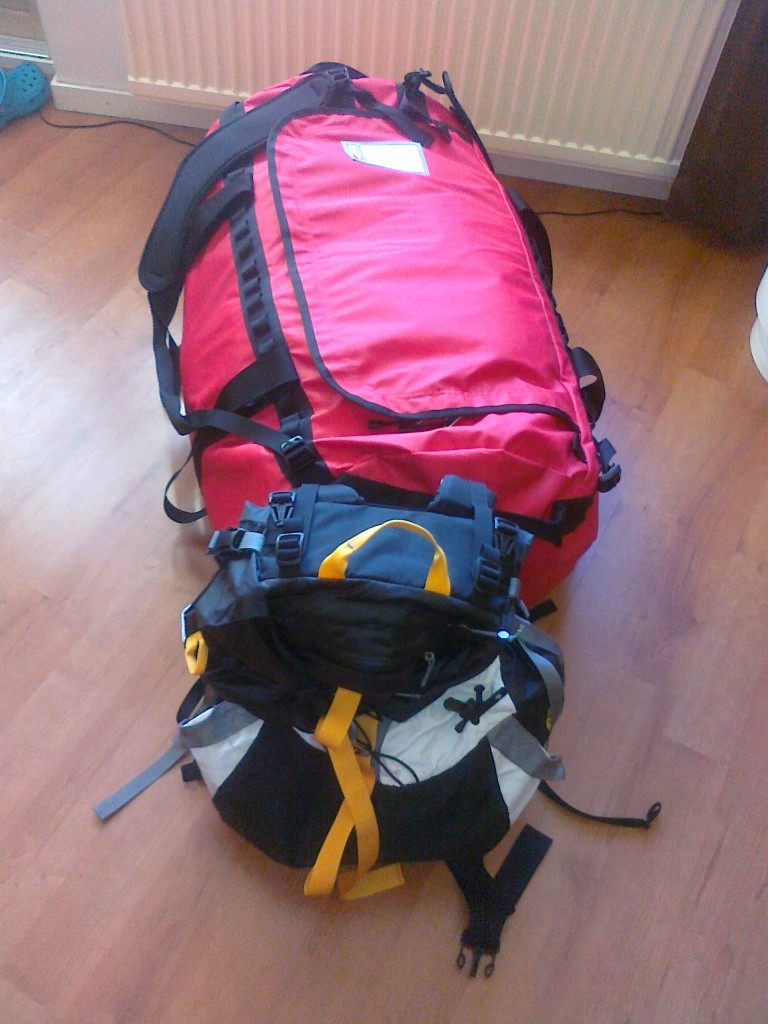 All gear packed