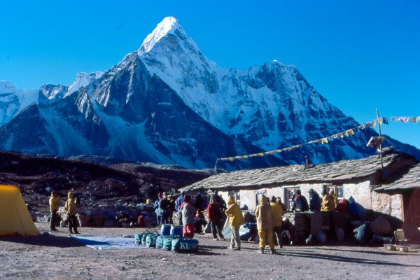Ama Dablam from Chukkung