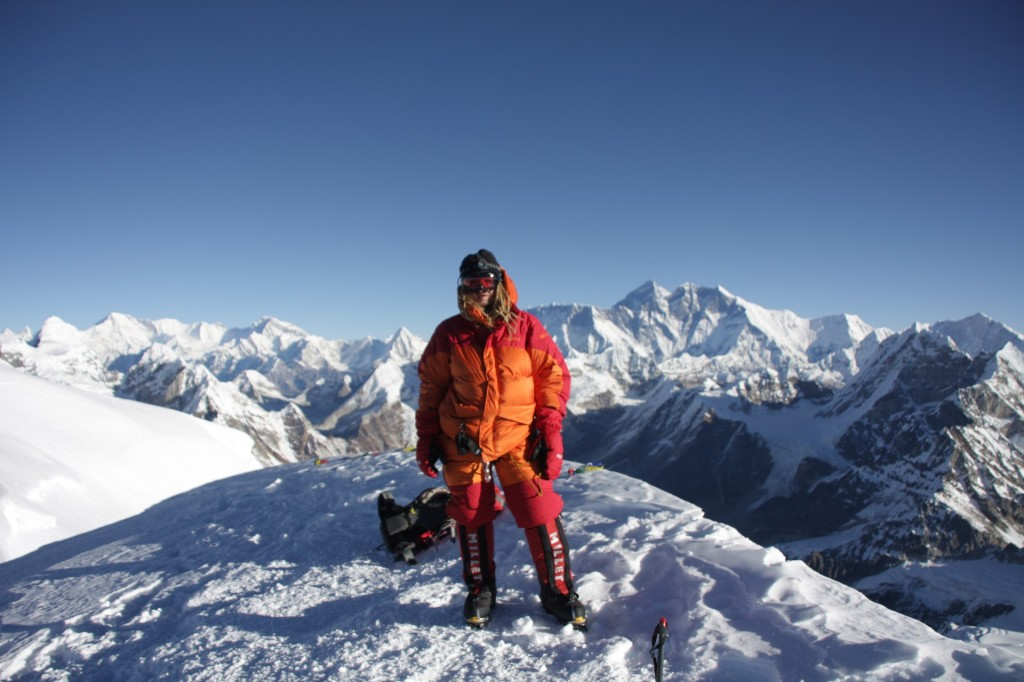 Mikko at the Mera Peak summit