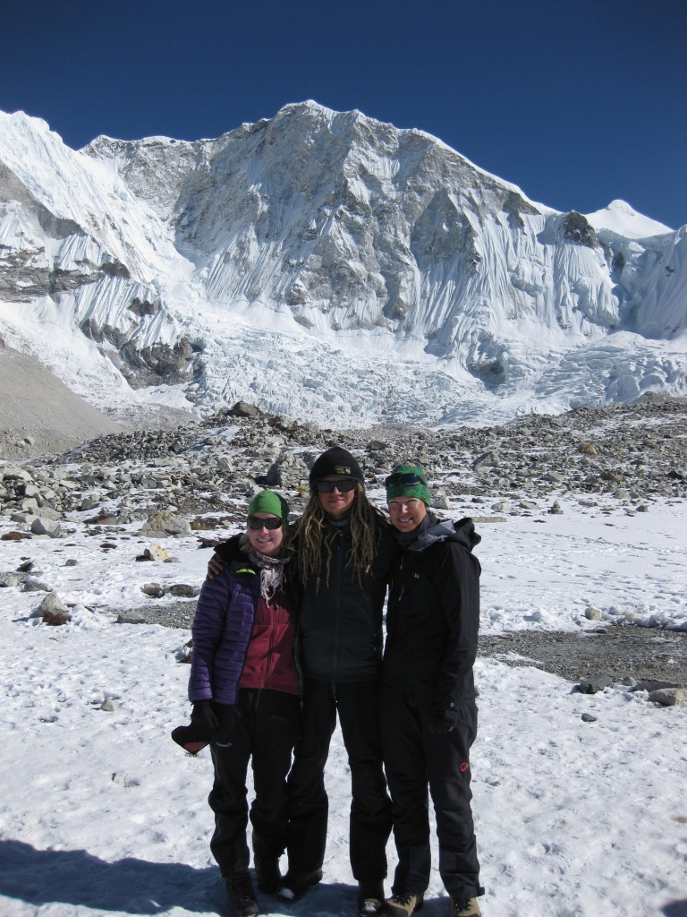 The Team Finland at Baruntse basecamp