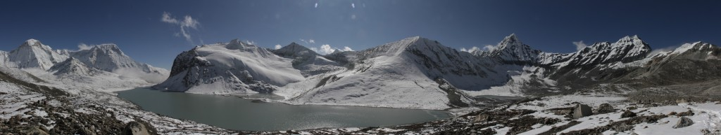 Panorama of the Panch Pokhari