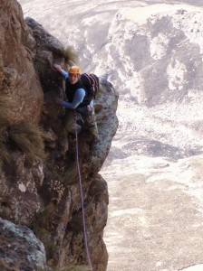 Angus Leppan (pitch 3) in Drakensberg