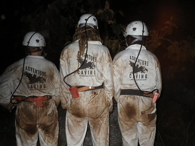 The overalls after the caving