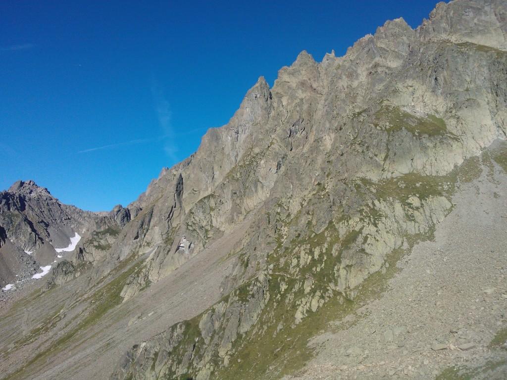 Chappelle de la Glière ridge