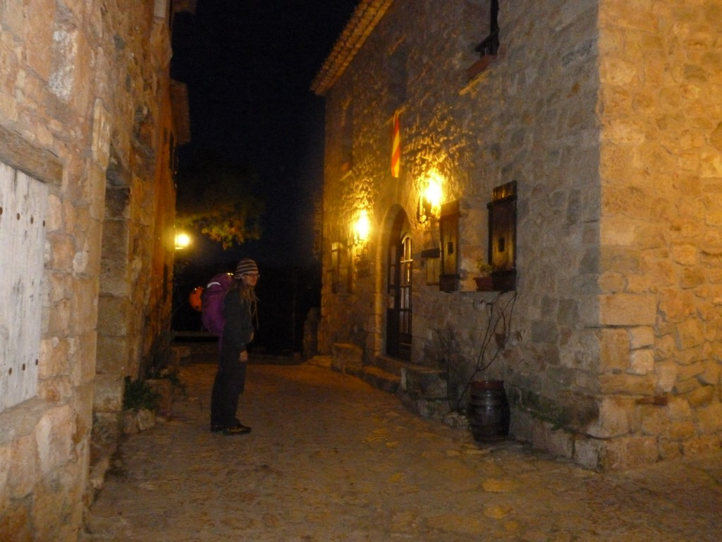 Some hippy at Siurana village in the evening