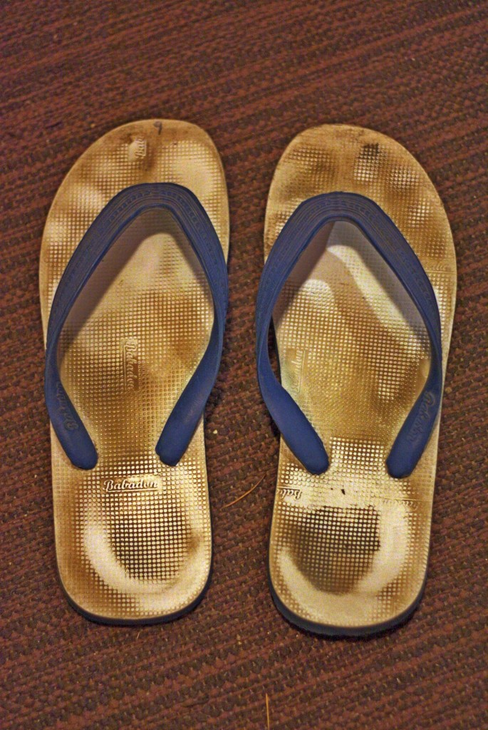 The original India chappals. The only way to walk when in India.