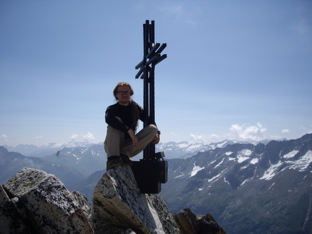 At the very top of the Bergseeschijen