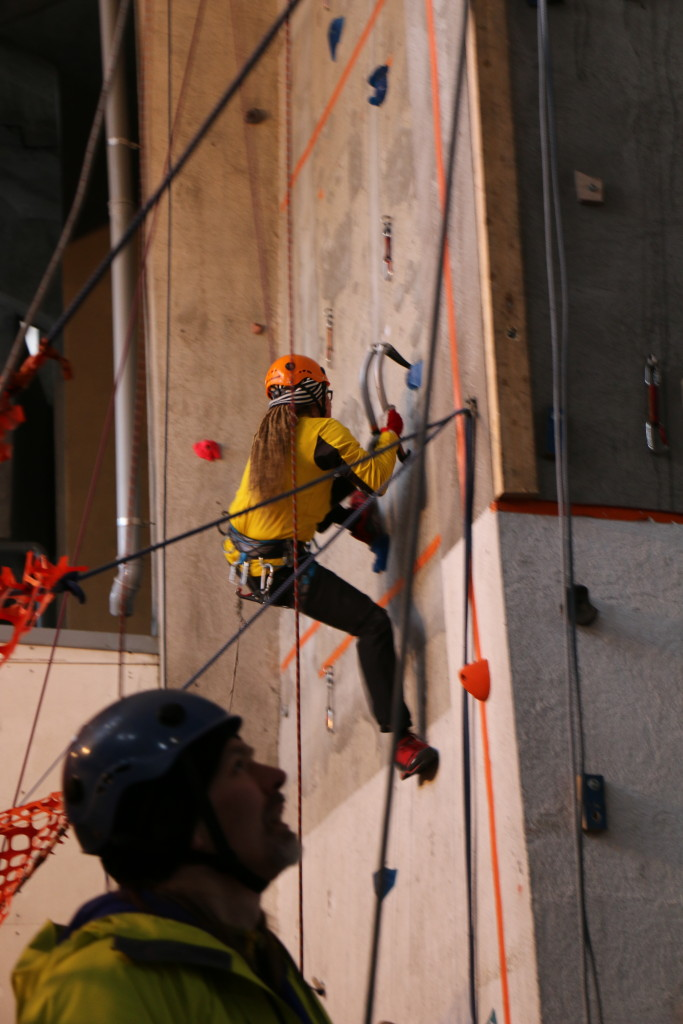 I also participated a climbing competition for the first ever time. Naturally the competition was not normal sports climbing or bouldering, but Hakkuhuukkailu which is a Finnish word for indoor drytooling. Didn't succeed that great, but weren't the last either.